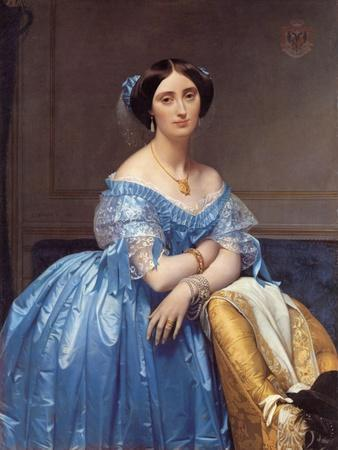Portrait of the Princesse De Broglie, 1853