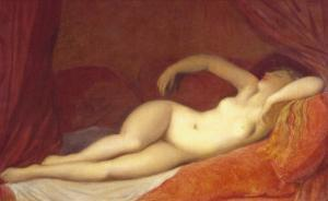 Sleeping Odalisque, c.1808 by Jean-Auguste-Dominique Ingres