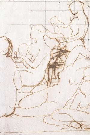 Study for the Turkish Bath