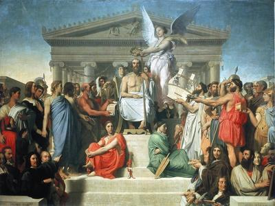 The Apotheosis of Homer, 1827