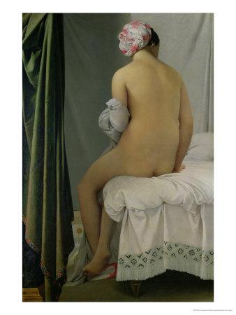 """The Bather, Called """"Baigneuse Valpincon,"""" 1808"""