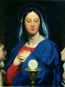 The Virgin of the Host, 1866 by Jean-Auguste-Dominique Ingres