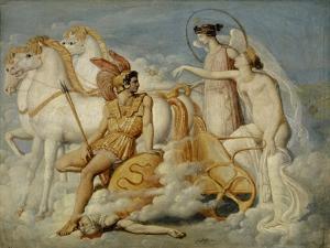 Venus, Injured by Diomedes, Returns to Olympus, c.1803 by Jean Auguste Dominique Ingres