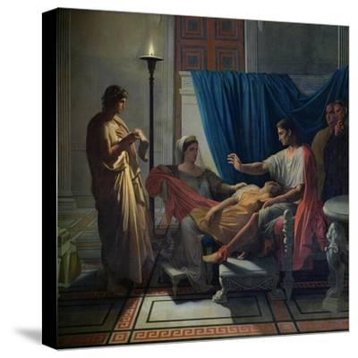 Virgil Reading the Aeneid to Livia, Octavia and Augustus, circa 1812