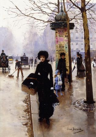 A Parisian; Une Parisienne by Jean B?raud