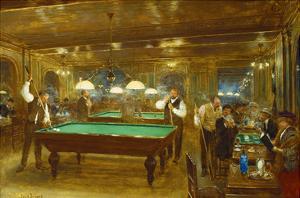 Billiards; Le Billard by Jean B?raud