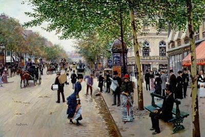 Parisian Street Scene by Jean B?raud