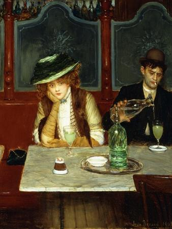 The Absinthe Drinkers by Jean B?raud