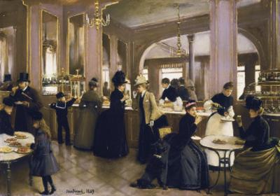 The Gloppe Pastry Shop by Jean B?raud