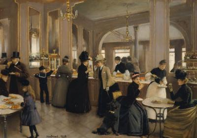 The Pastry Gloppe, 1889 by Jean B?raud