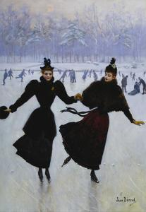 The Skaters by Jean B?raud