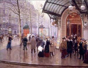 Theatre du Vaudeville by Jean B?raud