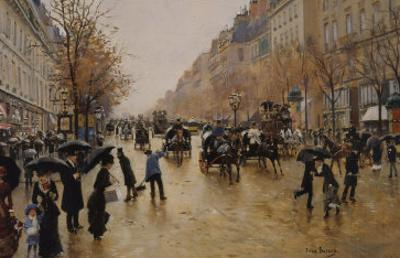View of Boulevards by Jean B?raud