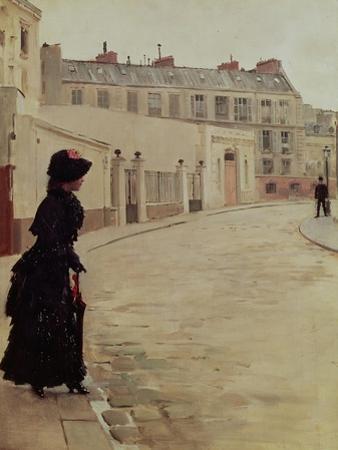 Waiting, Rue de Chateaubriand, Paris by Jean B?raud