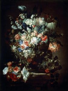 Flowers, 17th Century by Jean-Baptisite Monnoyer