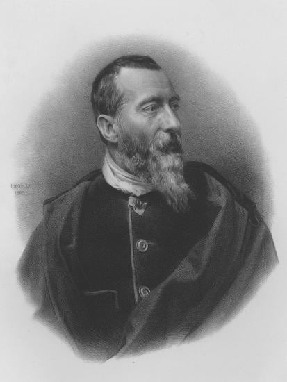 Jean-Baptiste-Alphonse Karr--Giclee Print