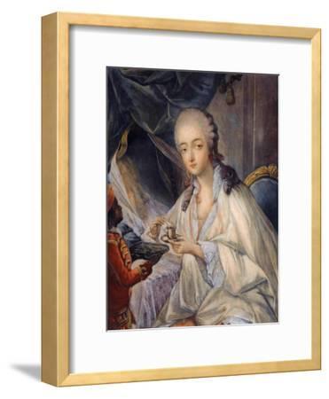 Jeanne Bécu, Comtesse Du Barry (1743-179) with a Cup of Coffee