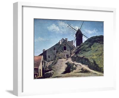 A Windmill at Montmartre, 1840-45