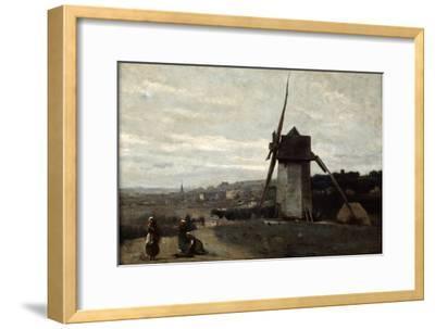 A Windmill, Etretat, 19th Century