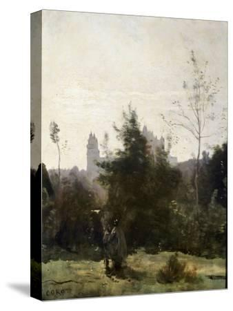 Château De Pierrefonds, 1860S
