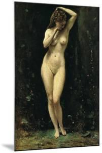 Diana Bathing (The Fountain) by Jean-Baptiste-Camille Corot