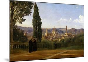 Florence, Seen from the Boboli-Gardens by Jean-Baptiste-Camille Corot