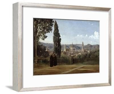 Florence, View from the Boboli Gardens, 1835-1840