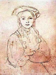 Girl in Beret by Jean-Baptiste-Camille Corot