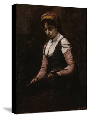Girl with Mandolin, 1860-65