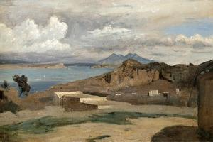 Ischia, Seen from Mount Epomeo, 1828 by Jean-Baptiste-Camille Corot