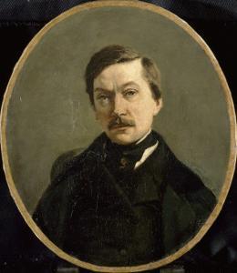 M. Edouard Delalain by Jean-Baptiste-Camille Corot