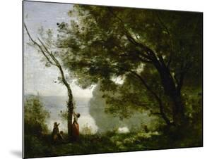 Memory of Mortefontaine, France, 1864 by Jean-Baptiste-Camille Corot