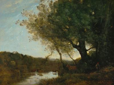 Passing the Ford in the Evening, 1868