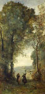 Reminiscence of the Beach of Naples, 1871-1872 by Jean-Baptiste-Camille Corot