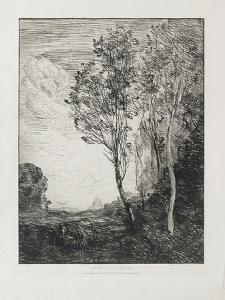 Souvenir D'Italie, 1863 by Jean-Baptiste-Camille Corot