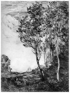 Souvenir D'Italie, C1815-1865 by Jean-Baptiste-Camille Corot
