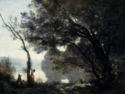 Souvenir De Mortefontaine (Oise, France) (Exhibited 1864)