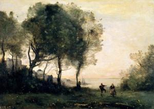 Souvenir of Italy by Jean-Baptiste-Camille Corot