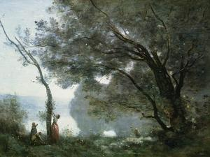 Souvenir of Montefontaine, 1864 by Jean-Baptiste-Camille Corot
