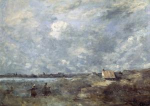 Stormy Weather. Pas De Calais, C1870 by Jean-Baptiste-Camille Corot