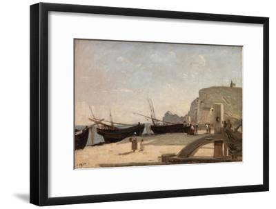 The Beach, Etretat, 1872