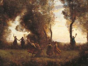 The Dance of the Nymphs by Jean-Baptiste-Camille Corot