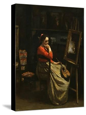 The Workshop of Corot, Young Woman with Red Blouse, 1865-1870