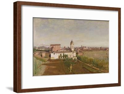 Trinita Dei Monti from the Villa Medici, C.1830-34