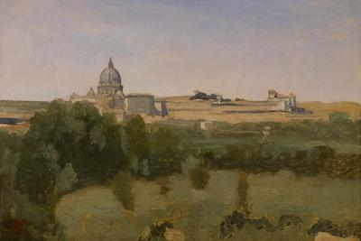 View of St. Peter'S, Rome, 1826