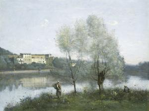 Ville-d'Avray, c.1865 by Jean-Baptiste-Camille Corot