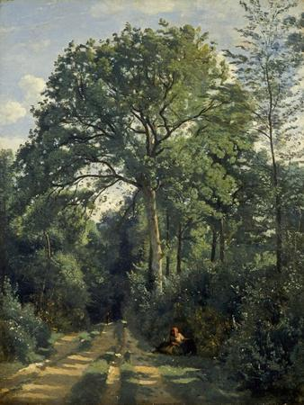Ville D'Avray: Entrance to the Wood, C.1825