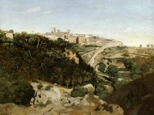 Volterra, Italy, 1834 by Jean-Baptiste-Camille Corot