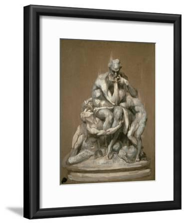 Study for the Sculpture 'Ugolino and His Children', 1860