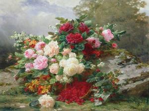 Autumn Flowers by Jean Baptiste Claude Robie